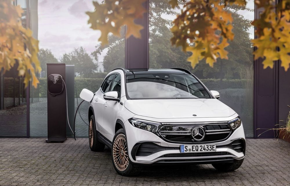 OFICIAL: Mercedes-Benz EQA este noul membru al familiei electrice EQ: autonomie de peste 420 kilometri - Poza 13