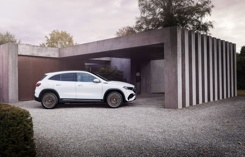 OFICIAL: Mercedes-Benz EQA este noul membru al familiei electrice EQ: autonomie de peste 420 kilometri - Poza 14