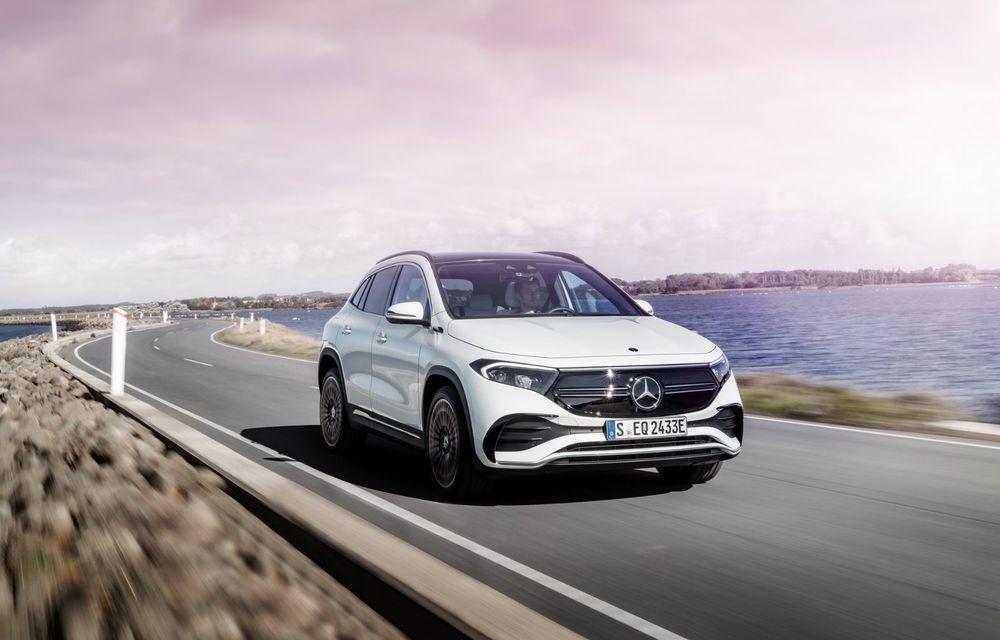 OFICIAL: Mercedes-Benz EQA este noul membru al familiei electrice EQ: autonomie de peste 420 kilometri - Poza 1