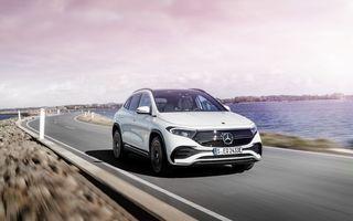 OFICIAL: Mercedes-Benz EQA este noul membru al familiei electrice EQ: autonomie de peste 420 kilometri