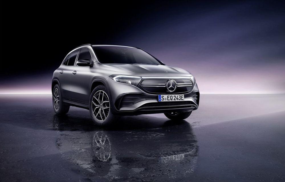 OFICIAL: Mercedes-Benz EQA este noul membru al familiei electrice EQ: autonomie de peste 420 kilometri - Poza 20