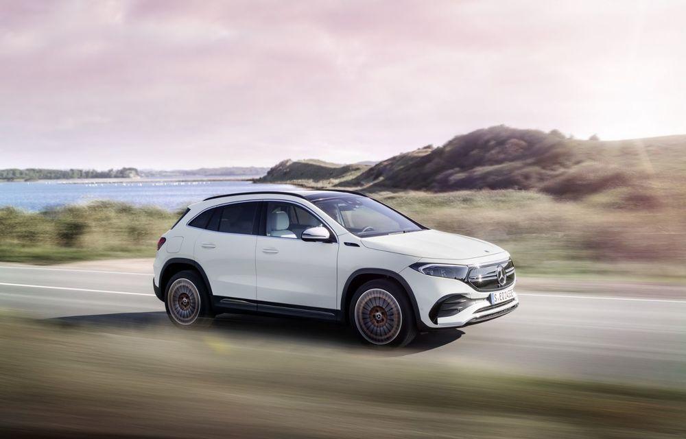 OFICIAL: Mercedes-Benz EQA este noul membru al familiei electrice EQ: autonomie de peste 420 kilometri - Poza 2