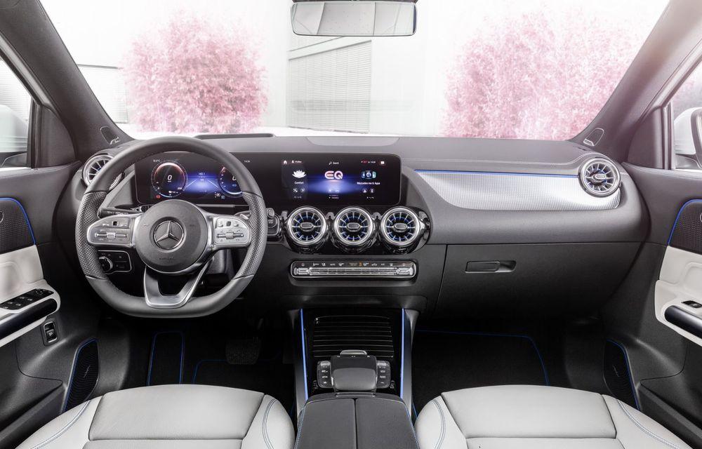 OFICIAL: Mercedes-Benz EQA este noul membru al familiei electrice EQ: autonomie de peste 420 kilometri - Poza 11