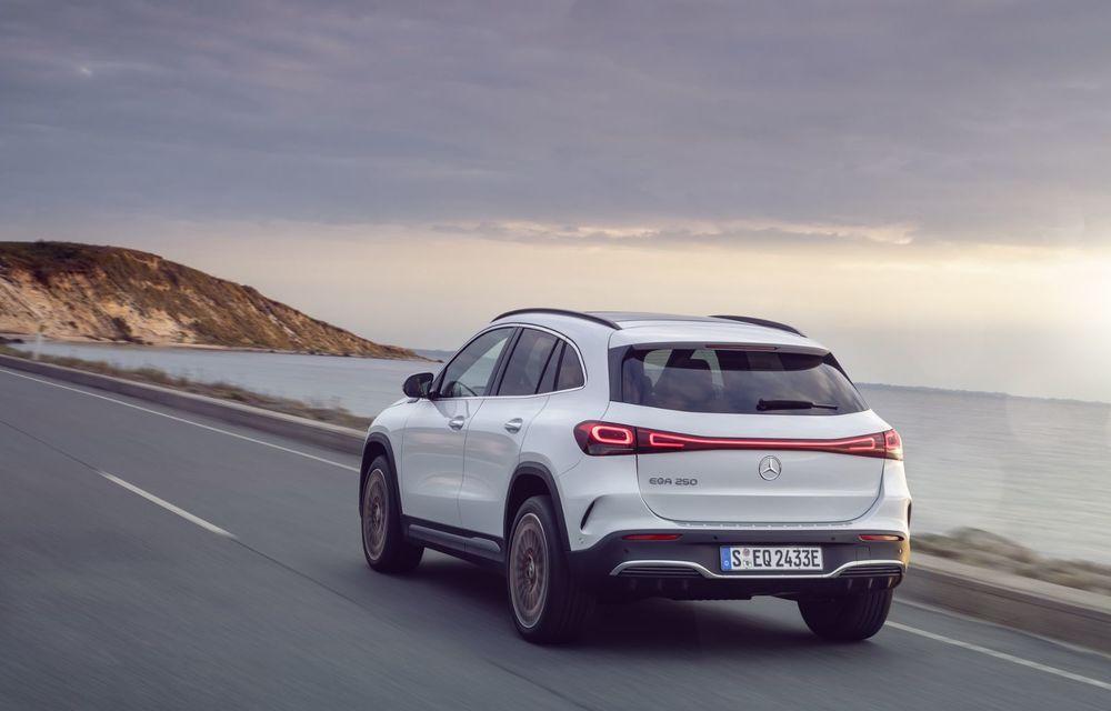 OFICIAL: Mercedes-Benz EQA este noul membru al familiei electrice EQ: autonomie de peste 420 kilometri - Poza 19