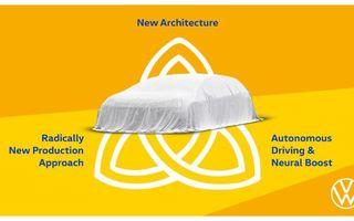 """Volkswagen pregătește o navă-amiral 100% electrică: """"Vom stabili noi standarde privind autonomia și viteza de încărcare"""""""