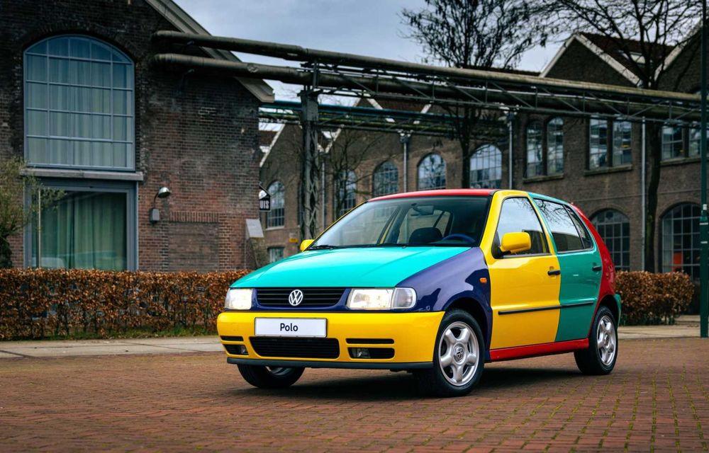 Volkswagen readuce la viață Polo Harlekin, o ediție multicoloră ingenioasă, lansată în 1994 - Poza 3