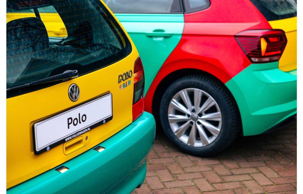 Volkswagen readuce la viață Polo Harlekin, o ediție multicoloră ingenioasă, lansată în 1994 - Poza 17
