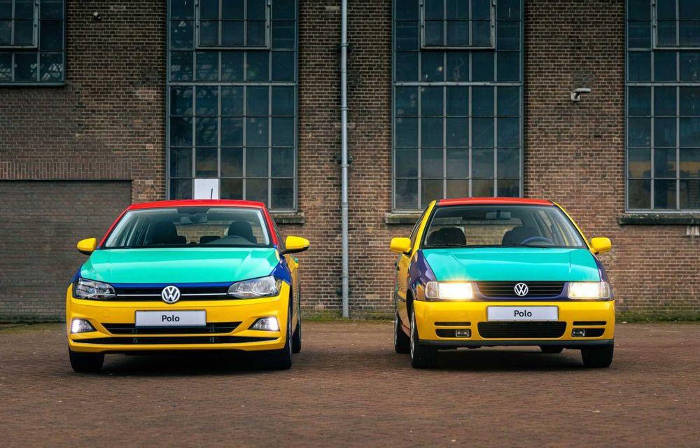 Volkswagen readuce la viață Polo Harlekin, o ediție multicoloră ingenioasă, lansată în 1994 - Poza 13