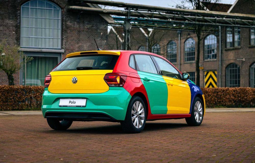 Volkswagen readuce la viață Polo Harlekin, o ediție multicoloră ingenioasă, lansată în 1994 - Poza 8