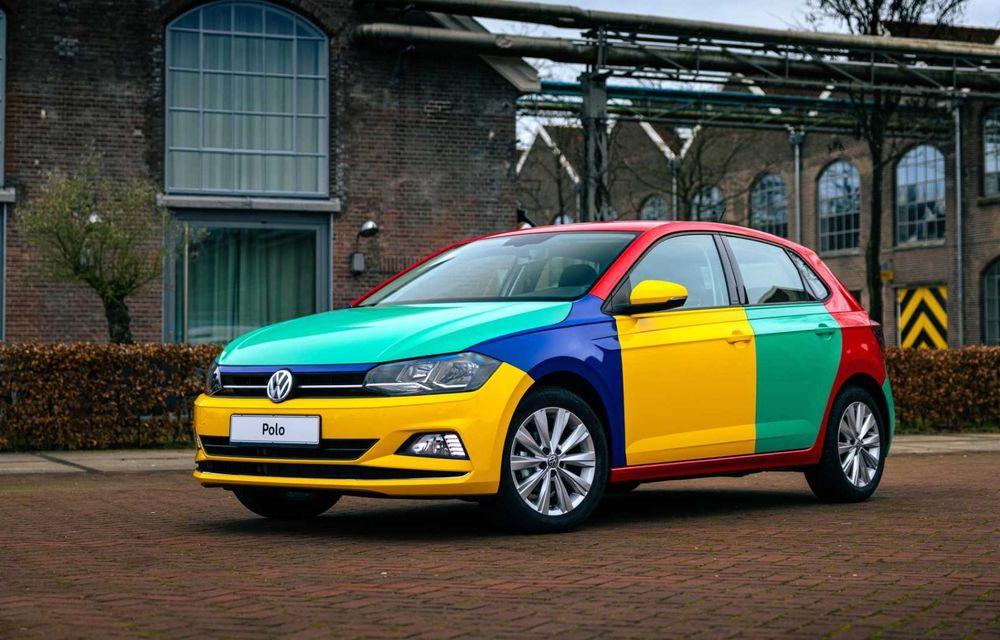 Volkswagen readuce la viață Polo Harlekin, o ediție multicoloră ingenioasă, lansată în 1994 - Poza 7