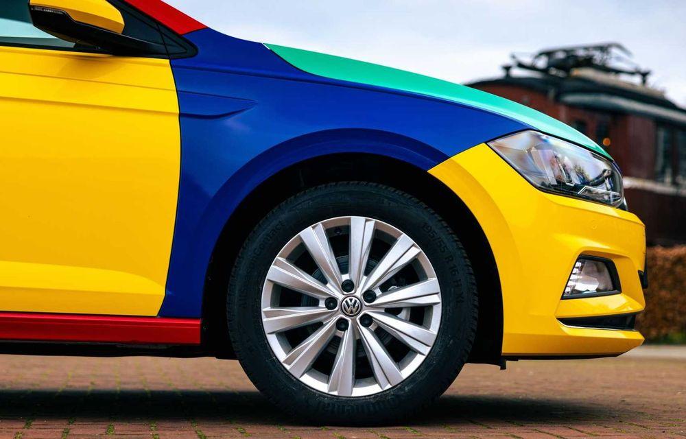 Volkswagen readuce la viață Polo Harlekin, o ediție multicoloră ingenioasă, lansată în 1994 - Poza 9
