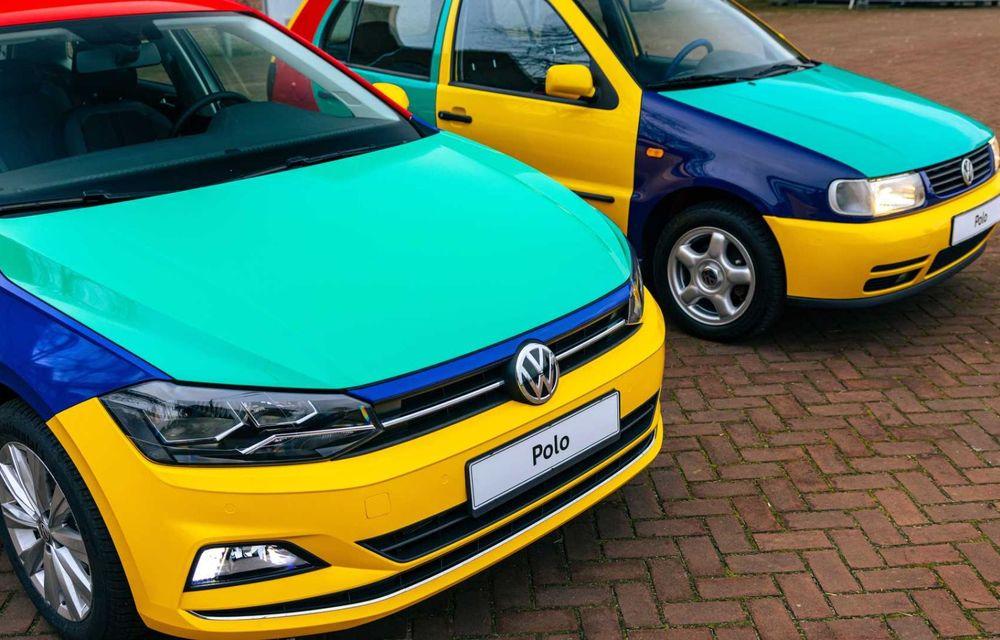 Volkswagen readuce la viață Polo Harlekin, o ediție multicoloră ingenioasă, lansată în 1994 - Poza 16