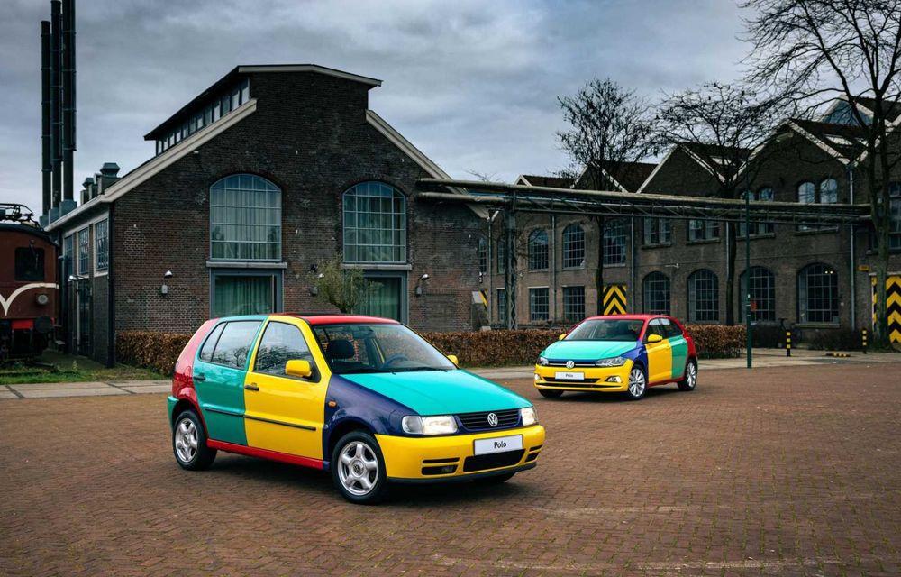 Volkswagen readuce la viață Polo Harlekin, o ediție multicoloră ingenioasă, lansată în 1994 - Poza 5