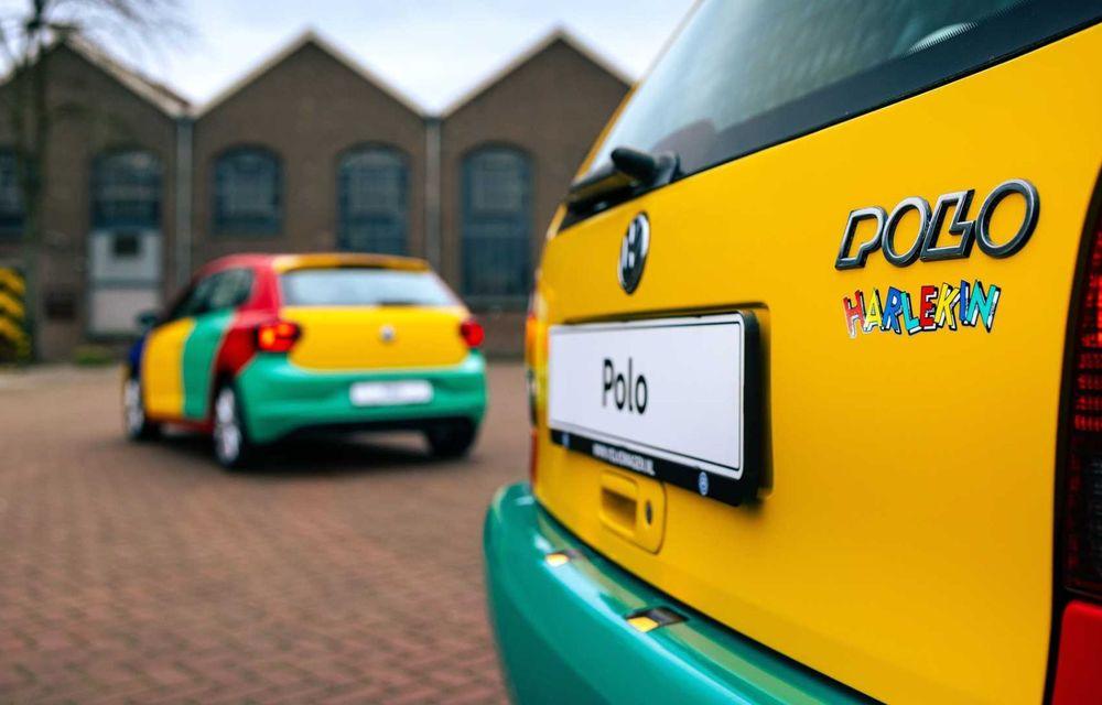Volkswagen readuce la viață Polo Harlekin, o ediție multicoloră ingenioasă, lansată în 1994 - Poza 12