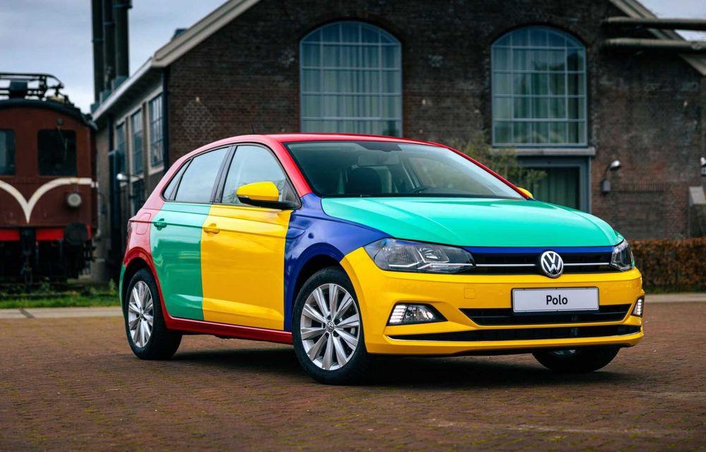Volkswagen readuce la viață Polo Harlekin, o ediție multicoloră ingenioasă, lansată în 1994 - Poza 4