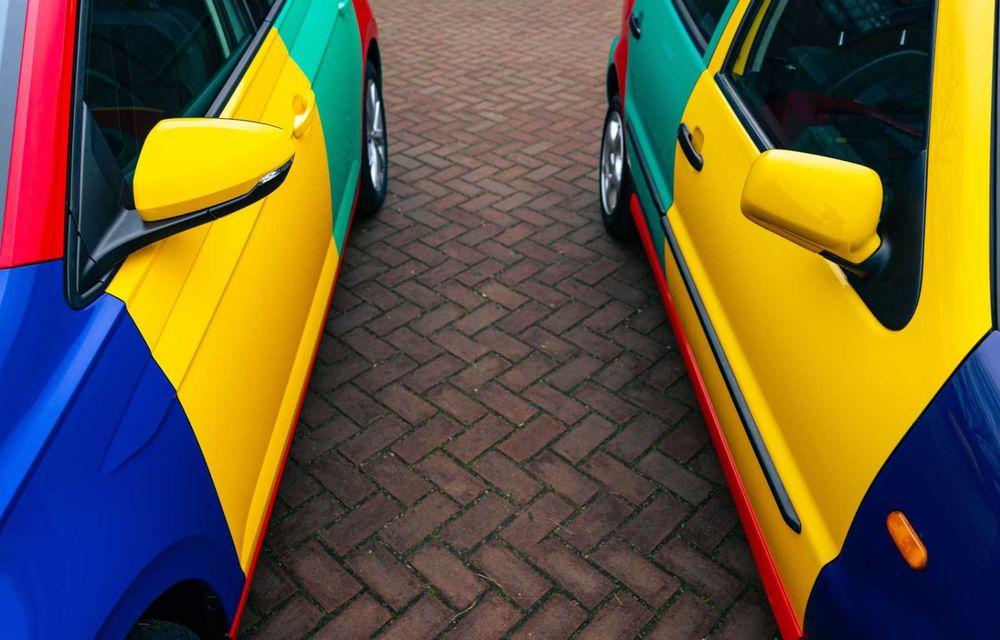 Volkswagen readuce la viață Polo Harlekin, o ediție multicoloră ingenioasă, lansată în 1994 - Poza 18