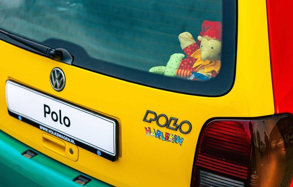 Volkswagen readuce la viață Polo Harlekin, o ediție multicoloră ingenioasă, lansată în 1994 - Poza 6