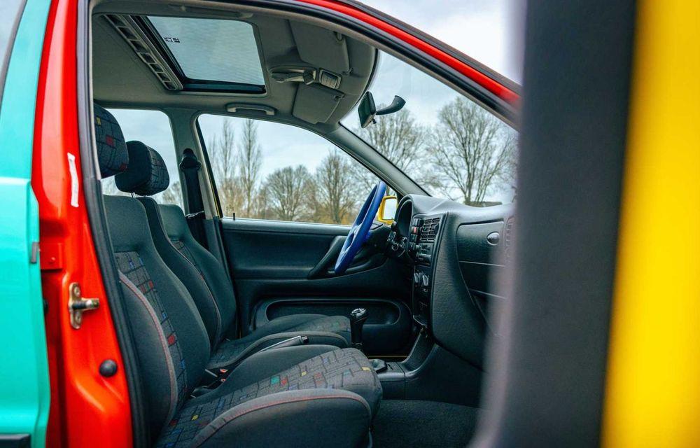 Volkswagen readuce la viață Polo Harlekin, o ediție multicoloră ingenioasă, lansată în 1994 - Poza 21