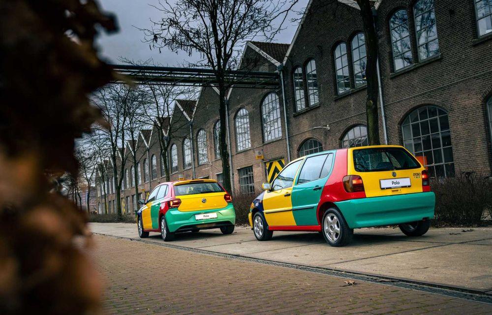 Volkswagen readuce la viață Polo Harlekin, o ediție multicoloră ingenioasă, lansată în 1994 - Poza 14
