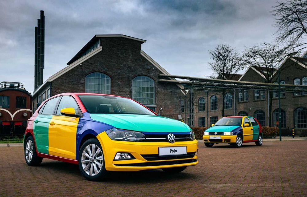Volkswagen readuce la viață Polo Harlekin, o ediție multicoloră ingenioasă, lansată în 1994 - Poza 1