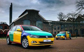 Volkswagen readuce la viață Polo Harlekin, o ediție multicoloră ingenioasă, lansată în 1994