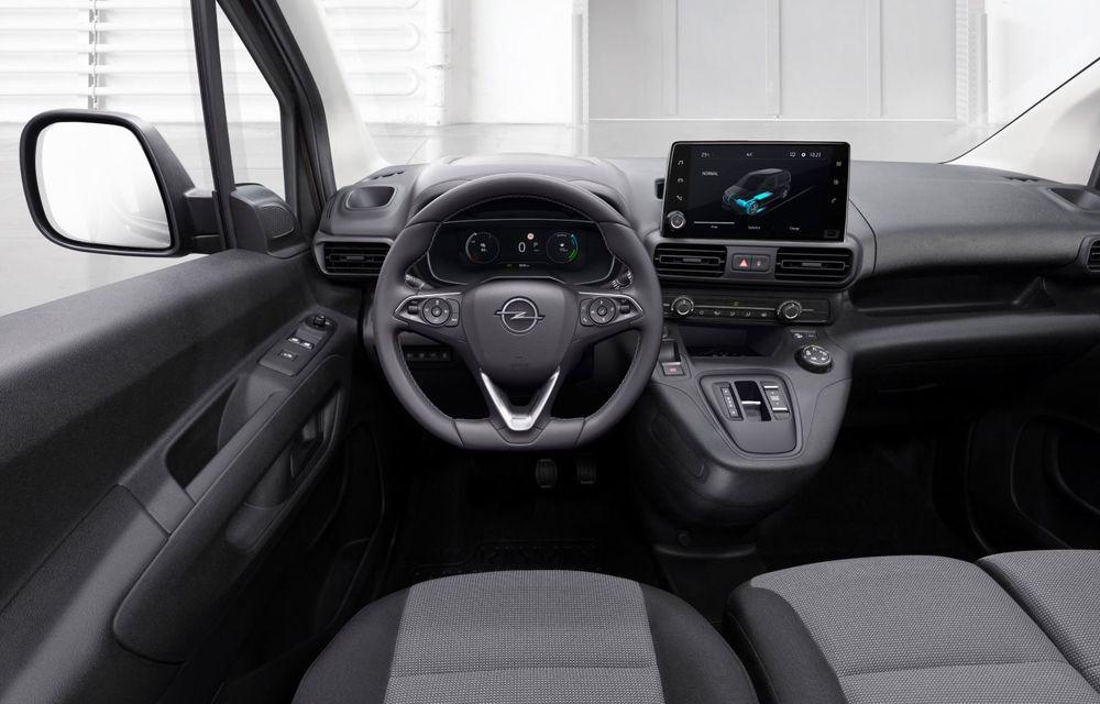 Opel Combo, de-acum și în versiune 100% electrică. Autonomie de până la 275 de kilometri - Poza 8