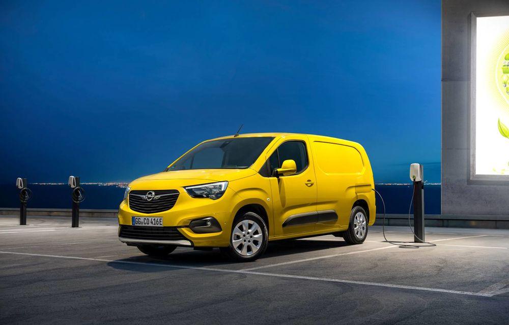 Opel Combo, de-acum și în versiune 100% electrică. Autonomie de până la 275 de kilometri - Poza 1