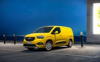 Opel Combo, de-acum și în versiune 100% electrică. Autonomie de până la 275 de kilometri