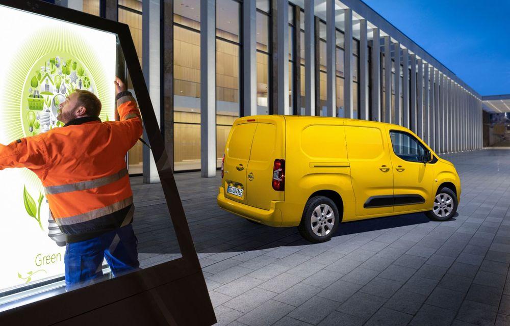 Opel Combo, de-acum și în versiune 100% electrică. Autonomie de până la 275 de kilometri - Poza 7