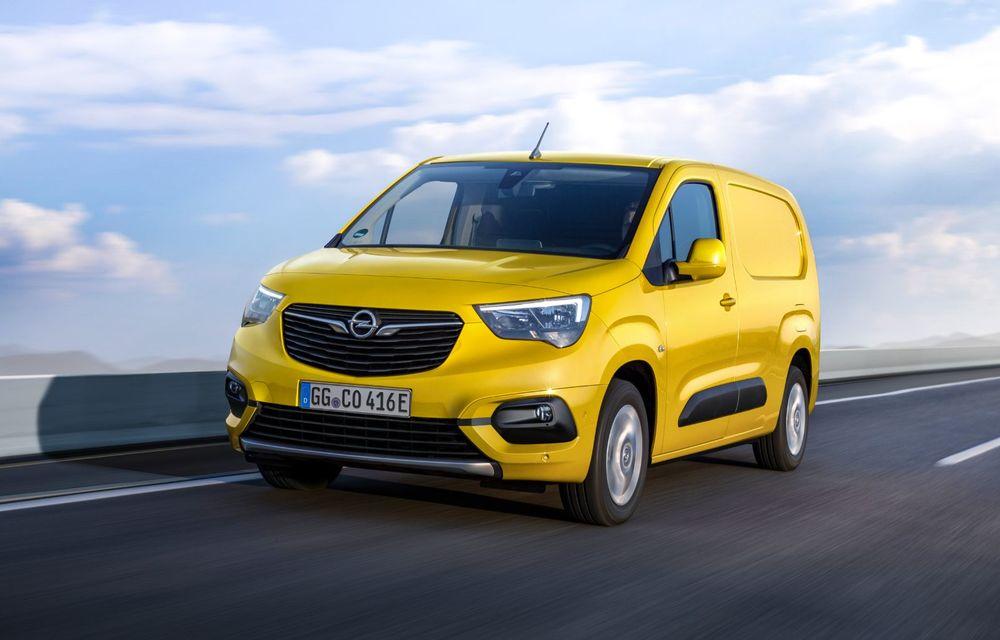 Opel Combo, de-acum și în versiune 100% electrică. Autonomie de până la 275 de kilometri - Poza 3