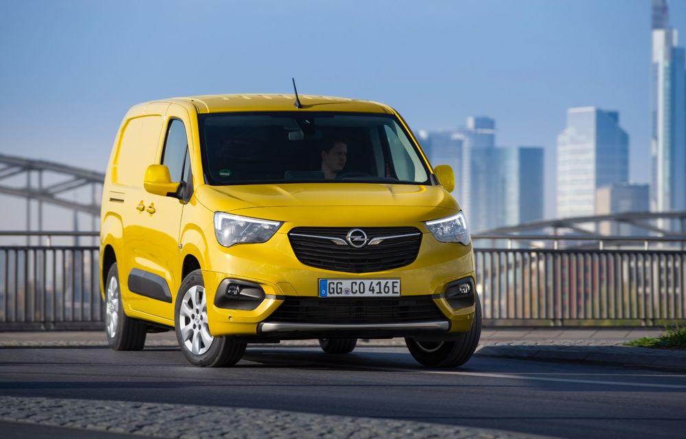 Opel Combo, de-acum și în versiune 100% electrică. Autonomie de până la 275 de kilometri - Poza 4