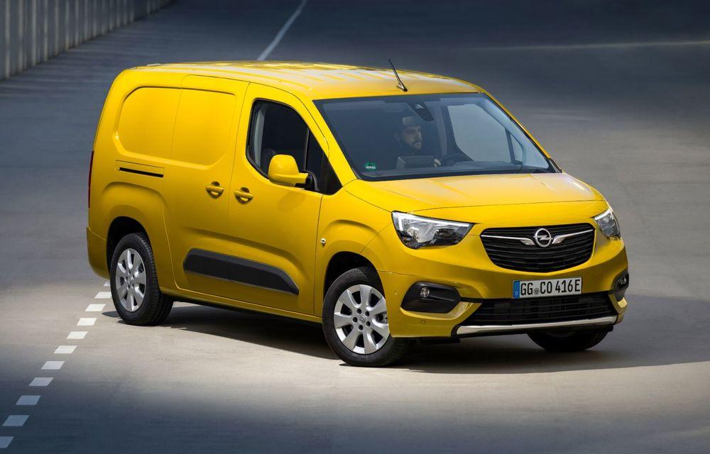 Opel Combo, de-acum și în versiune 100% electrică. Autonomie de până la 275 de kilometri - Poza 2
