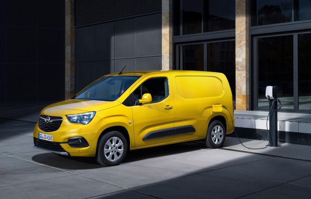 Opel Combo, de-acum și în versiune 100% electrică. Autonomie de până la 275 de kilometri - Poza 5