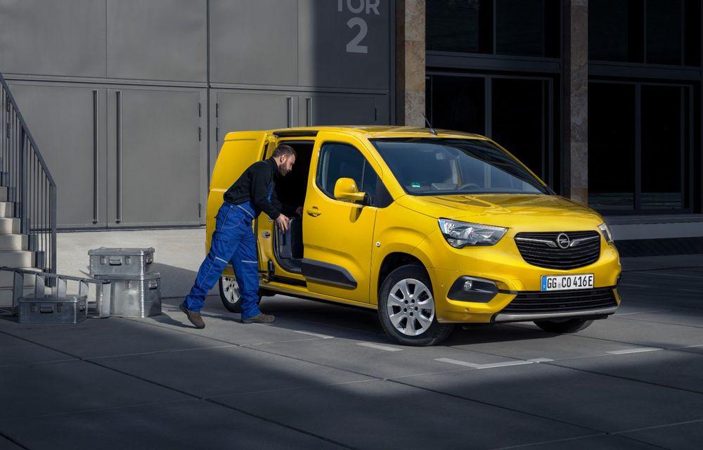 Opel Combo, de-acum și în versiune 100% electrică. Autonomie de până la 275 de kilometri - Poza 6