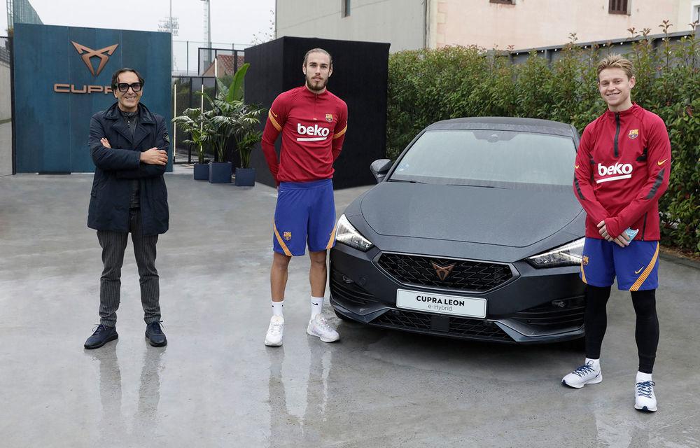 Jucătorii echipei FC Barcelona și-au configurat viitoarele mașini. Cupra Formentor a fost alegerea populară - Poza 7