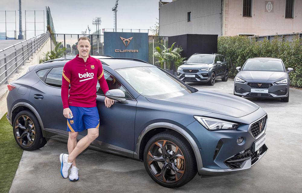 Jucătorii echipei FC Barcelona și-au configurat viitoarele mașini. Cupra Formentor a fost alegerea populară - Poza 1