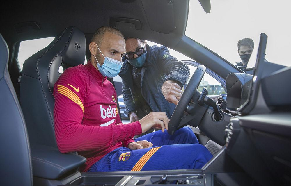 Jucătorii echipei FC Barcelona și-au configurat viitoarele mașini. Cupra Formentor a fost alegerea populară - Poza 11