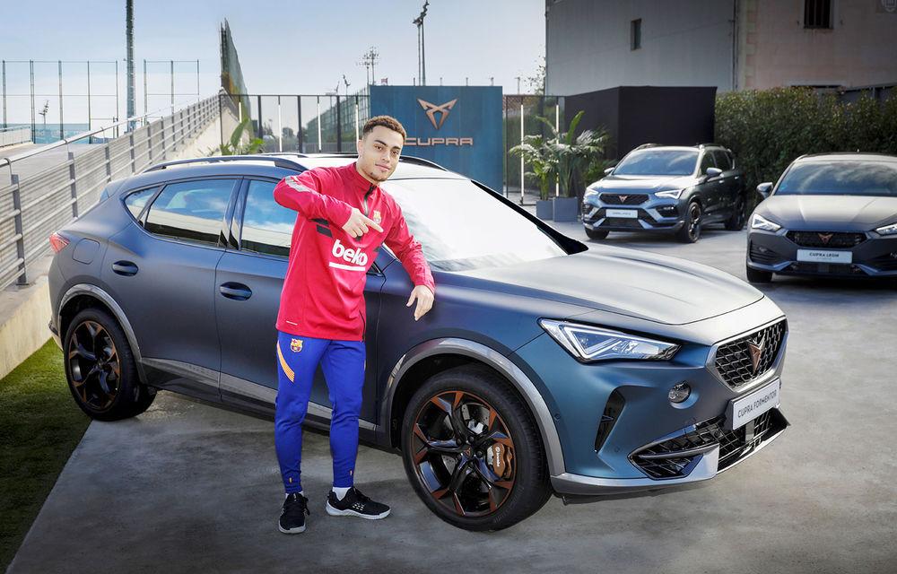 Jucătorii echipei FC Barcelona și-au configurat viitoarele mașini. Cupra Formentor a fost alegerea populară - Poza 4