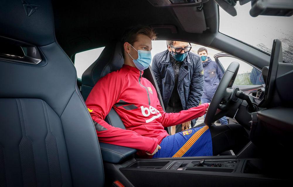 Jucătorii echipei FC Barcelona și-au configurat viitoarele mașini. Cupra Formentor a fost alegerea populară - Poza 9