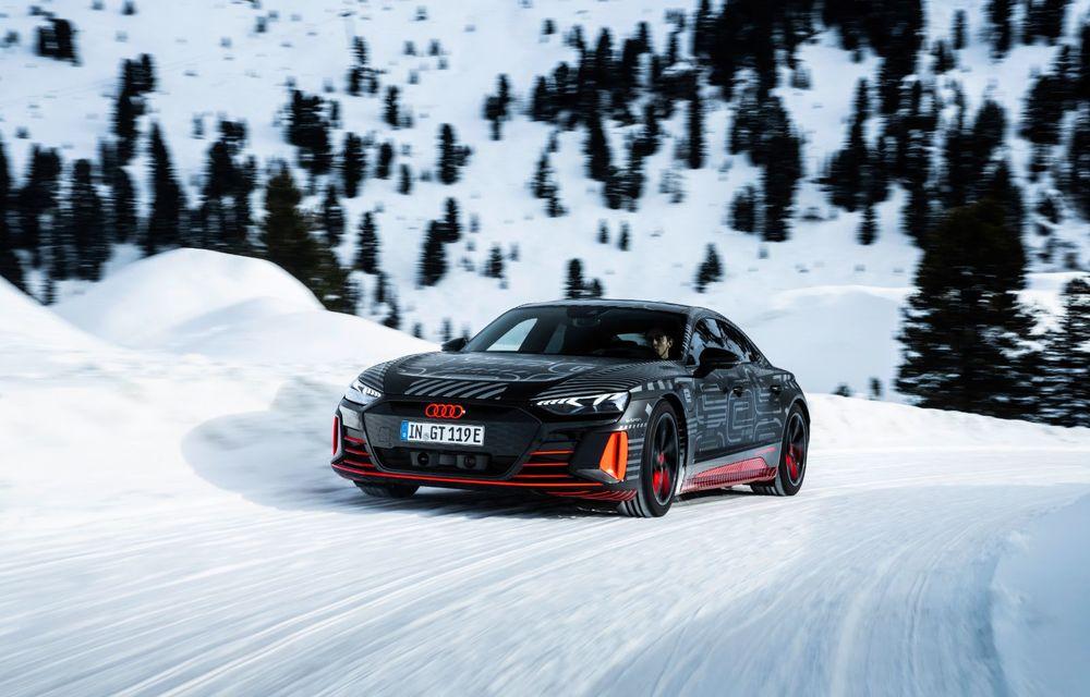 Imagini noi cu Audi e-tron GT: modelul electric va fi prezentat oficial în 9 februarie - Poza 2