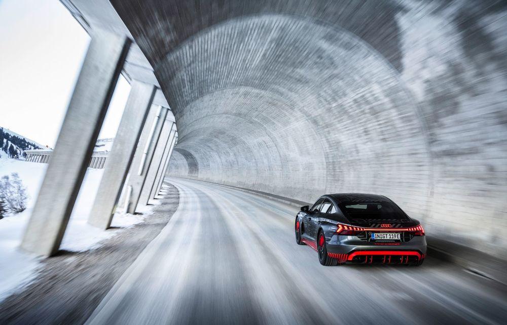 Imagini noi cu Audi e-tron GT: modelul electric va fi prezentat oficial în 9 februarie - Poza 10