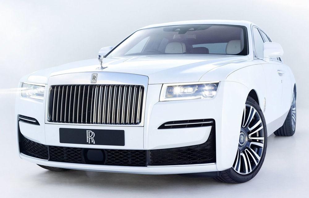 Noua generație Rolls Royce Ghost a fost prezentată oficial în România - Poza 1