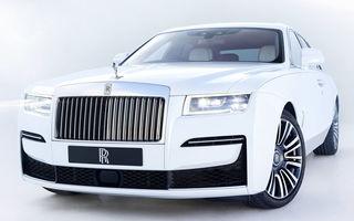Noua generație Rolls Royce Ghost a fost prezentată oficial în România