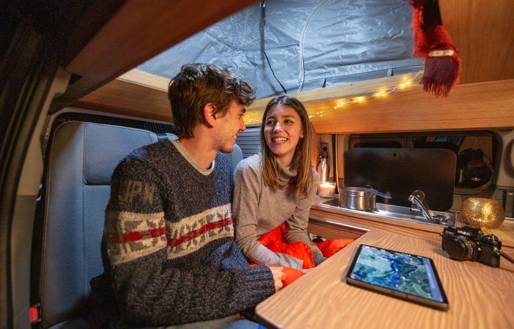 Nissan e-NV200 Winter Camper este rulota electrică pentru o aventură invernală - Poza 12