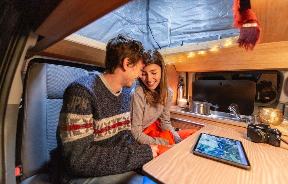 Nissan e-NV200 Winter Camper este rulota electrică pentru o aventură invernală - Poza 10