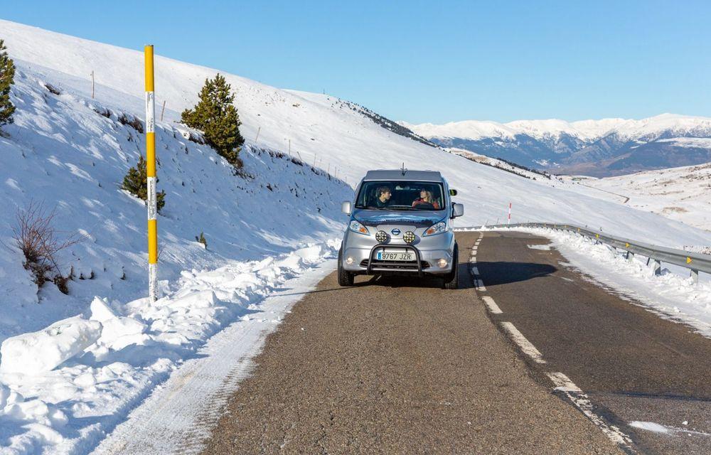 Nissan e-NV200 Winter Camper este rulota electrică pentru o aventură invernală - Poza 18