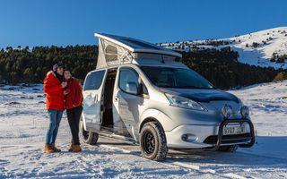 Nissan e-NV200 Winter Camper este rulota electrică pentru o aventură invernală