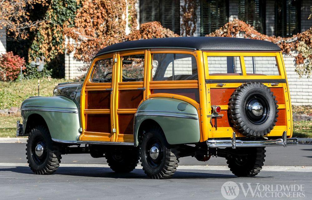 Mașini cu caroserie din lemn: șase exemplare foarte rare, scoase la iveală în America - Poza 5