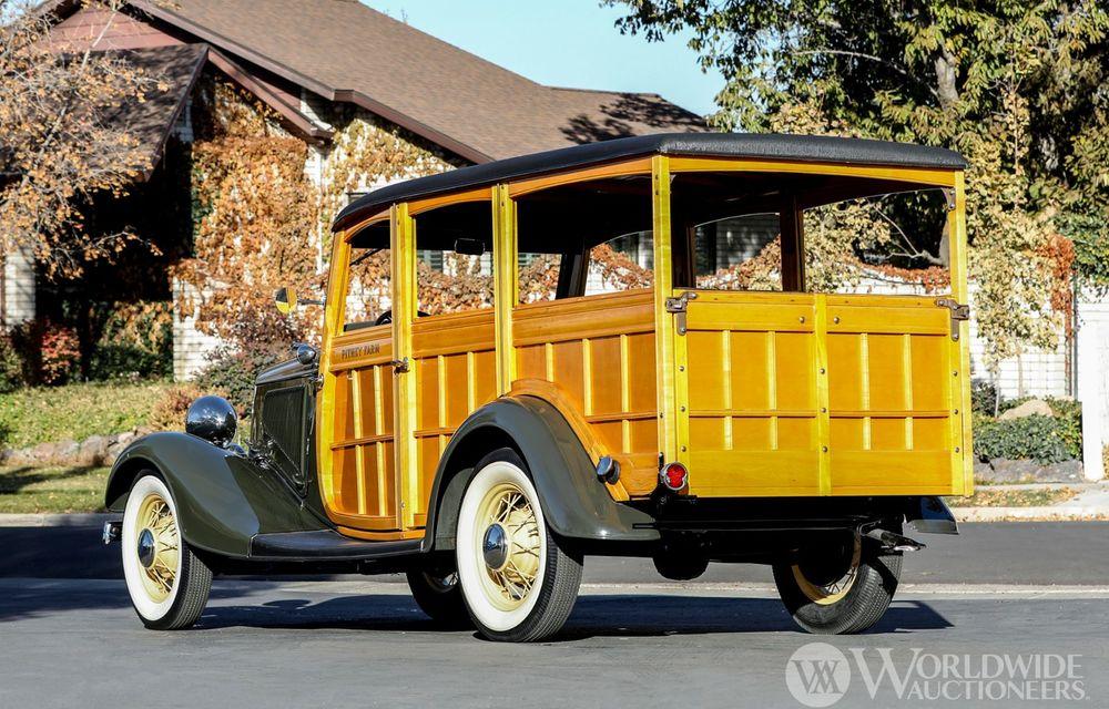 Mașini cu caroserie din lemn: șase exemplare foarte rare, scoase la iveală în America - Poza 40