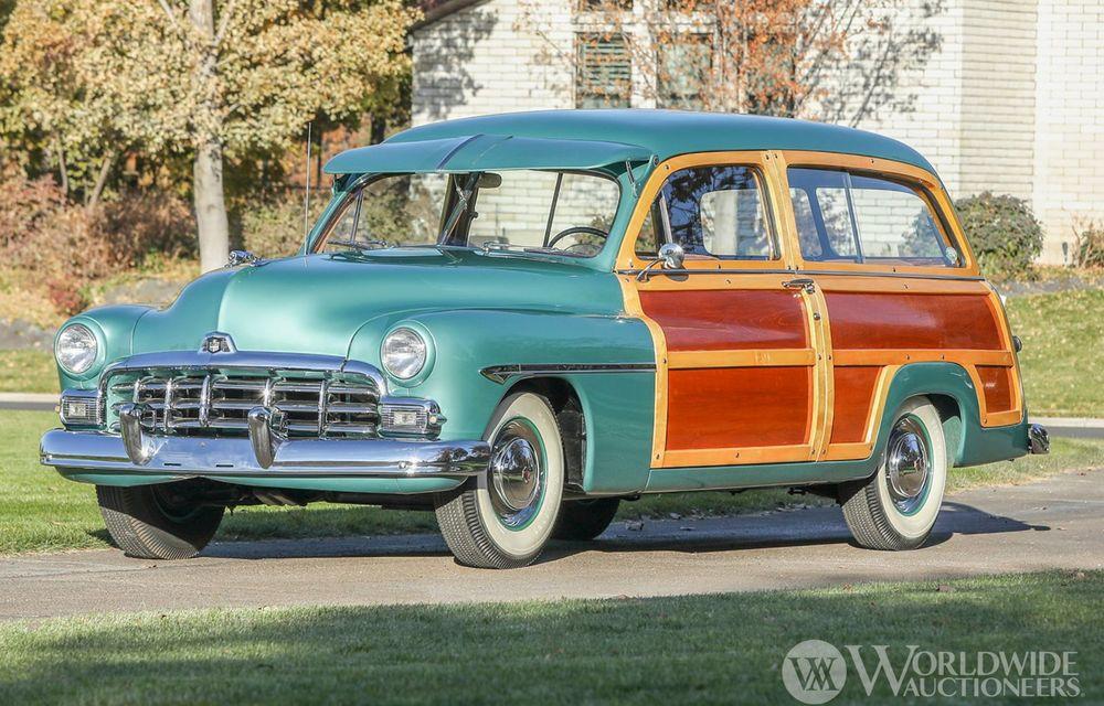 Mașini cu caroserie din lemn: șase exemplare foarte rare, scoase la iveală în America - Poza 24